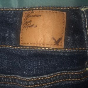 American eagle low stretch jeans.